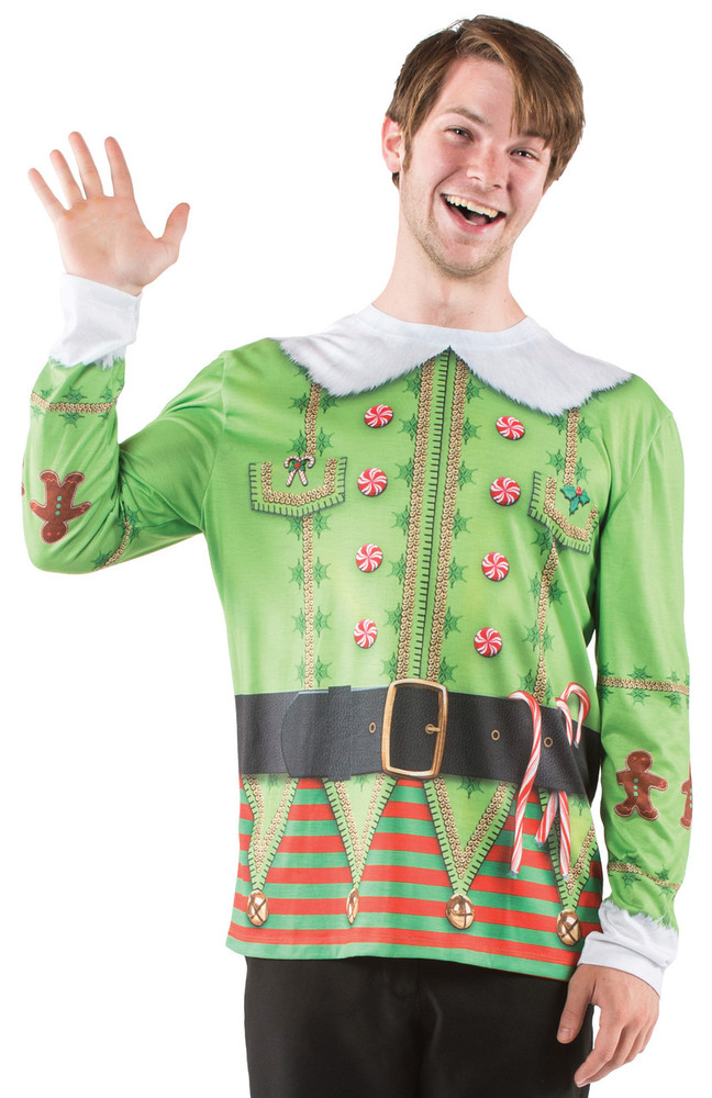Faux Real Christmas Elf - Front View