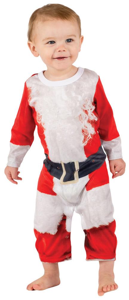 Faux Real Infant Santa Suit - Front View