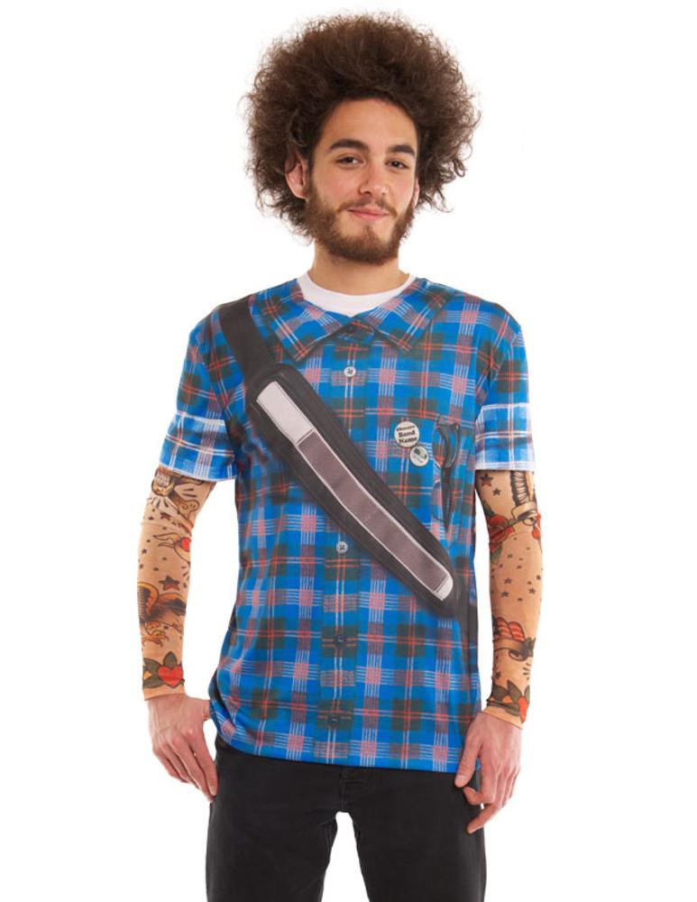 Hipster Plaid W/ Tattoos