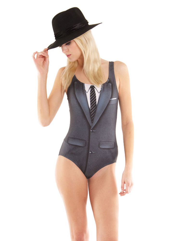 1960's Suit Bodysuit