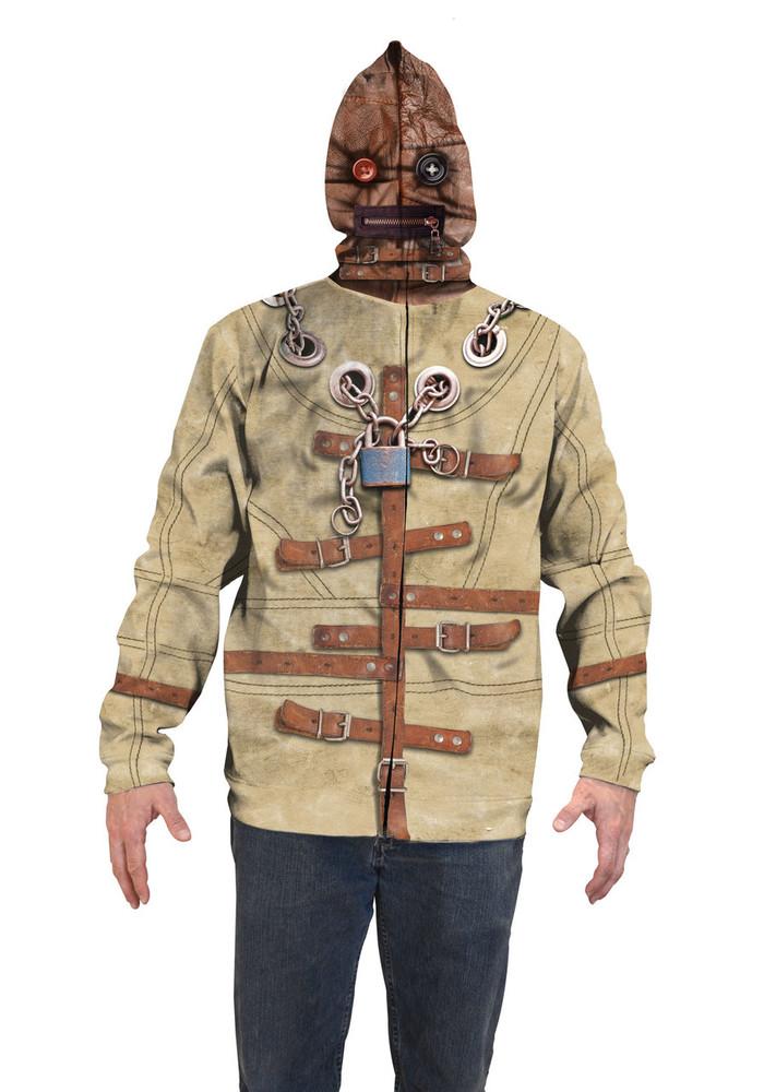Straight Jacket Mask Hoodie