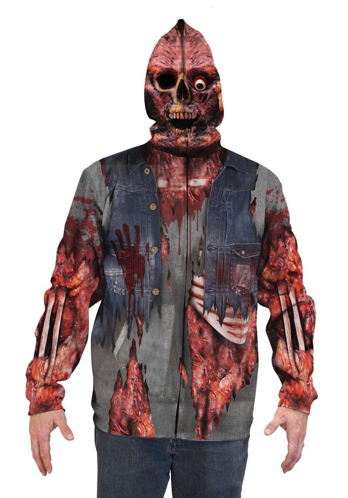 Zombie Mask Hoodie