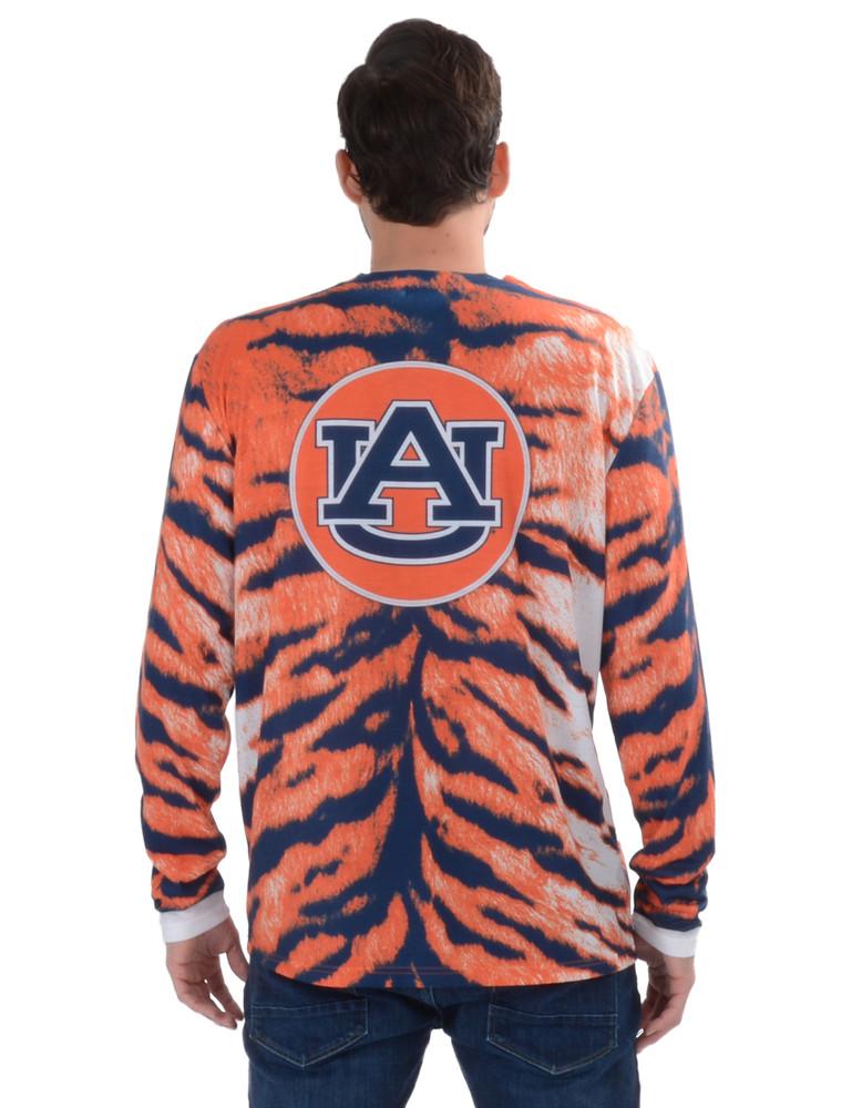 Auburn Tiger Skin Suit Tee