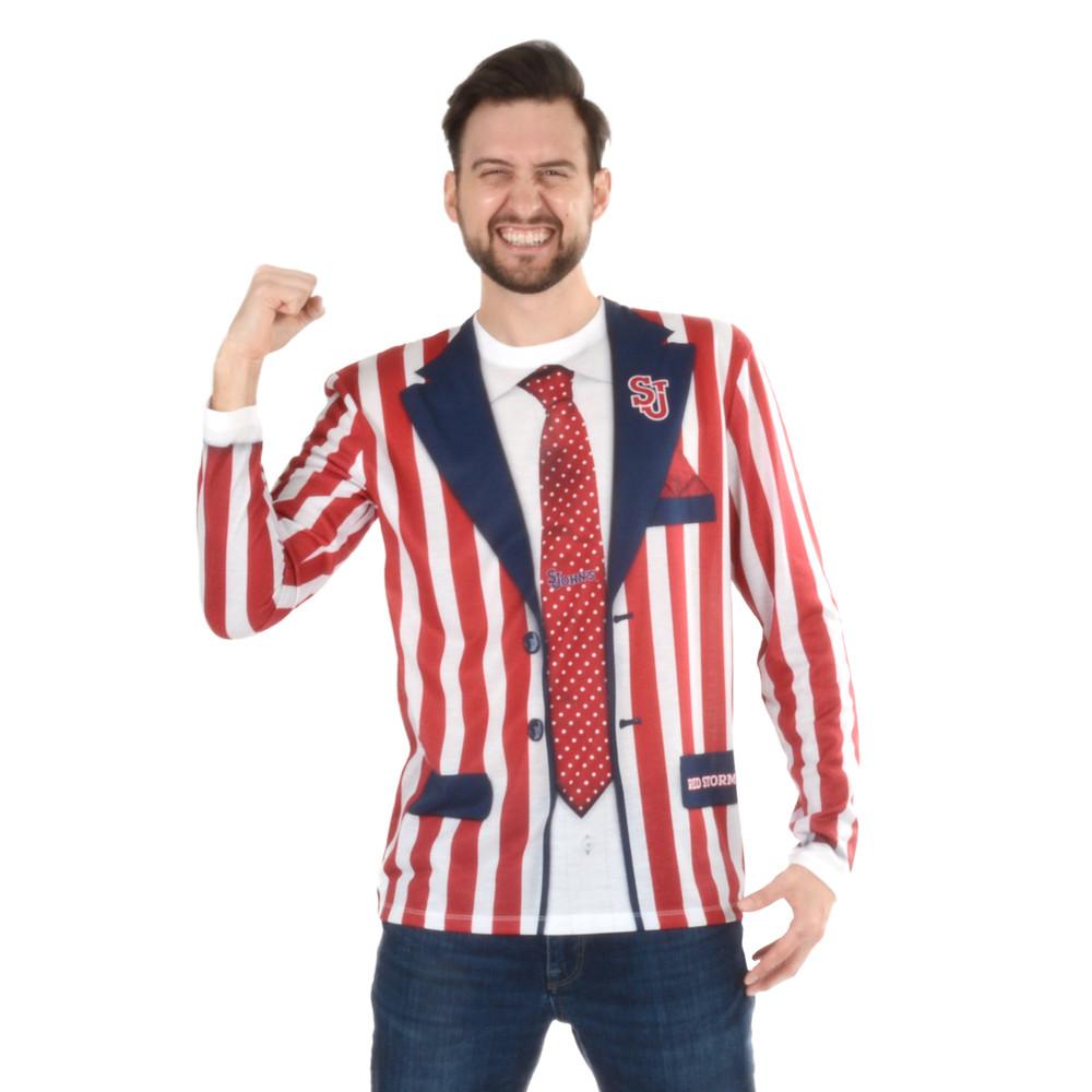 St. Johns Striped Suit