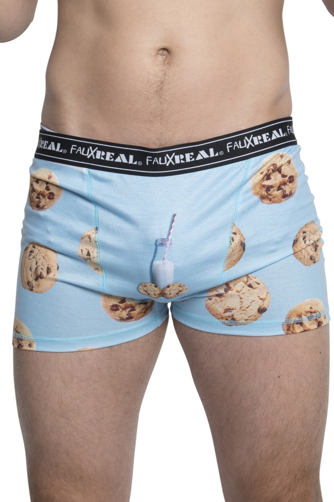 Xmas Milk and Cookies Boxers