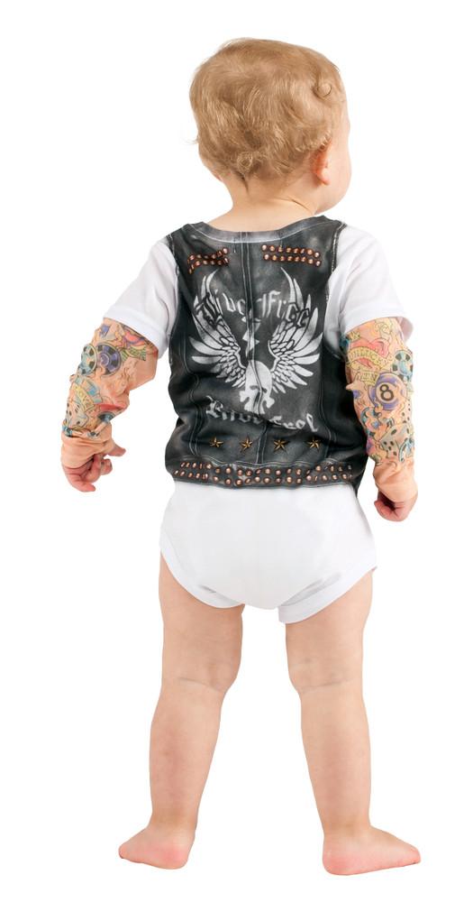 Infant Biker Romper