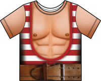 Faux Real Toddler Strongman - Front View