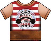 Faux Real Toddler Strongman - Back View
