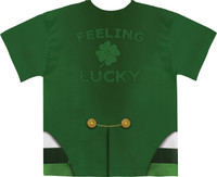 Faux Real Lucky Leprechaun - Back View