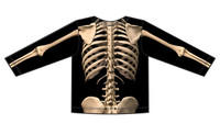 Faux Real Toddler Skeleton - Back View