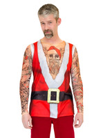 Santa Suit Tank with Tattoos