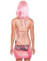 Flamingo Cover Up