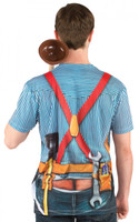Faux Real Plumber Back View