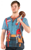 Faux Real Plumber Front View