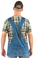 Faux Real Men's Hillbilly Back View