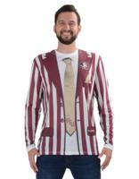 Florida State Seminoles Striped Suit Tee