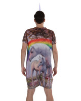 Rainbow & Unicorn Romper