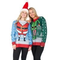 Santa Head Sweater Tee