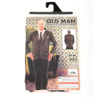 Old Man Mask/Tee Costume Combo