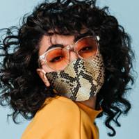 Snake Skin Face Mask