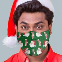Santa Stockings Face Mask