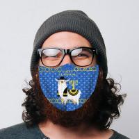 Happy Llamakah Face Mask