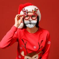 Santa's Beard Face Mask