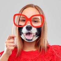 Youth Doggy Face Mask