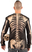 Skeleton Costume Back View