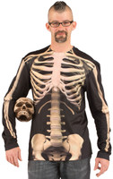 Skeleton Costume Front View