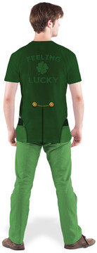 Faux Real Lucky Leprechaun - Model Back View