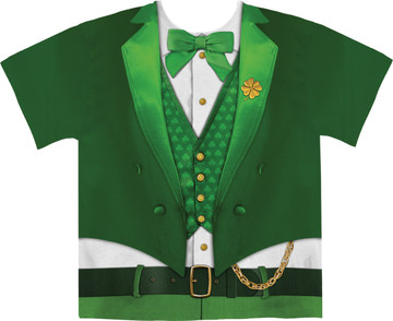 Faux Real Lucky Leprechaun - Front View