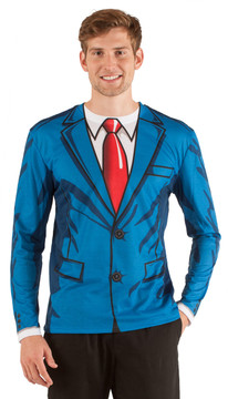 Faux Real Cartoon Suit - Front View