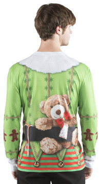 Faux Real Christmas Elf - Back View