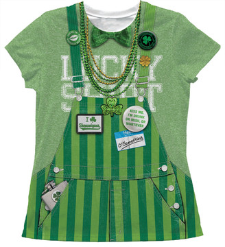 Faux Real Ladies Lucky Shirt - Front View Flat