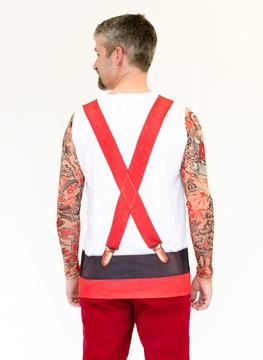 Christmas Tattoos & Suspenders
