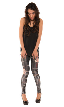 Barbed Wire Leggings