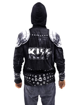 KISS - The Demon Zip Mask Hoodie