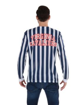 Virginia Cavaliers Striped Suit Tee