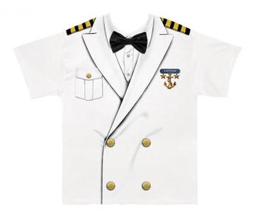 Captain Uniform Front View