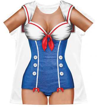 Sailor Girl Front View