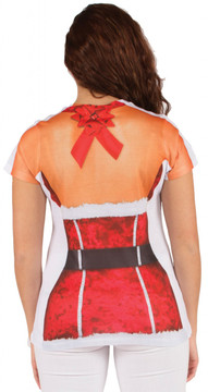 Faux Real Sexy Santa Back View