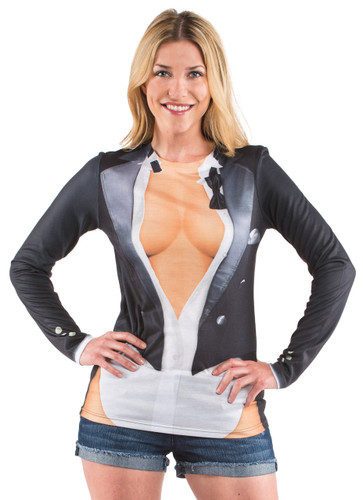 Cleavage Tux