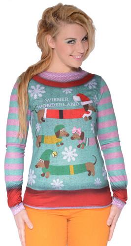 Ladies' Wiener Wonderland T-Shirt
