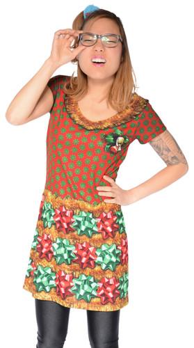 Christmas Bow Dress