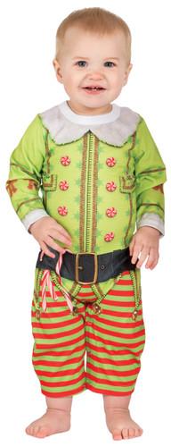 Infant Christmas Elf Romper