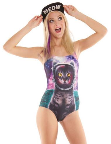 Galactic Cat Bodysuit