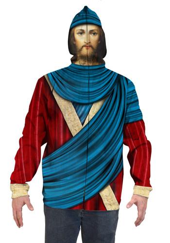 Jesus Mask Hoodie