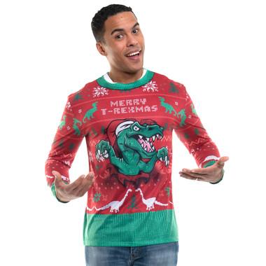 T-Rexmas Sweater Tee