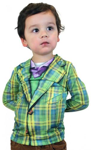 Youth Plaid Suit